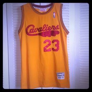 LeBron James Cavaliers Mitchell&Ness jersey sz L